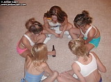 Jordan Capri and her girlfriends play Spin the Bottle from Jordan Capri