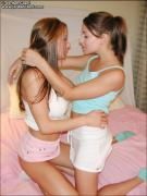 Two girls getting hot from Jordan Capri