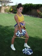 Cheerleader in a icebox has a great time and gives you a sensational time. from Jordan Capri