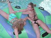 Jordan Capri and Taylor Little make out at the pool! from Jordan Capri