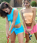Jordan Capri plays a naughty croquet game! from Jordan Capri