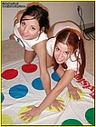 Jordan Capri and her girlfriends play naked twister! from Jordan Capri
