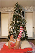 It's that time of year to spread holiday cheer and be merry! Jordan Capri takes part in the holiday fun as she gets ready for Santa in a hot babydoll teddy! Has Jordan been naughty or nice this year? You'll just have to find out! from Jordan Capri